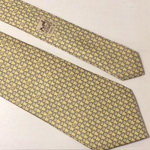 Hermès Whimsical Print Tie